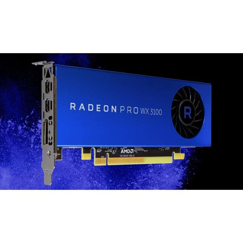 1500 MHz Radeon Pro WX 3100-4 Go Fujitsu AMD Radeon Pro WX